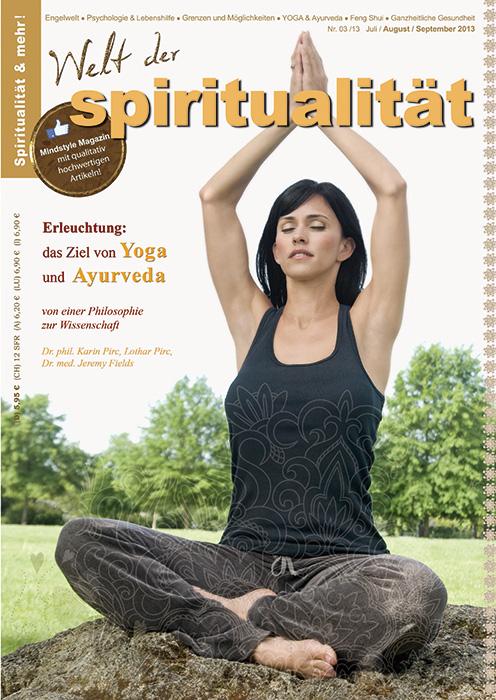 Artikel in Welt der Spiritualität:Erleuchtung: das Ziel von Yoga und Ayurveda