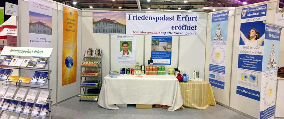 Thüringer Gesundheitsmesse: Der Friedenspalast ist wieder dabei!