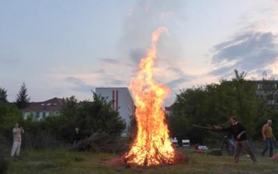 Friedenspalast Erfurt feiert die Walpurgisnacht